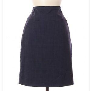 Banana Republic stretch size 6 dark gray skirt